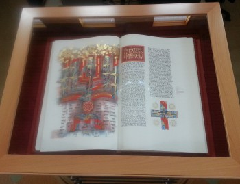 Find out more about the Library's Heritage Edition of The Saint John's Bible.