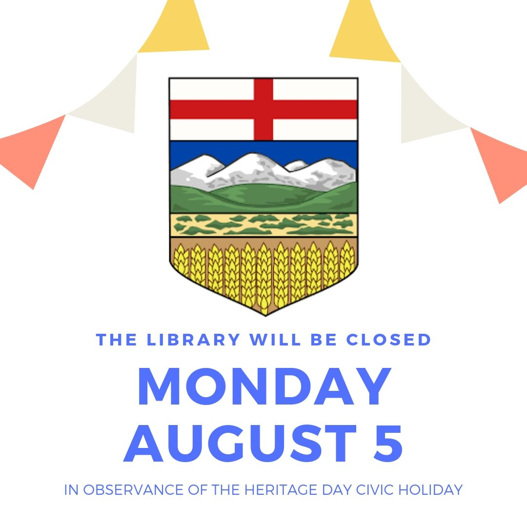 The Library will be closed for August for Heritage Day