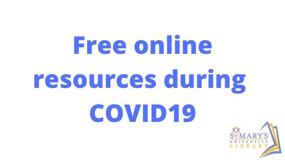 Free Online Resources During COVID19
